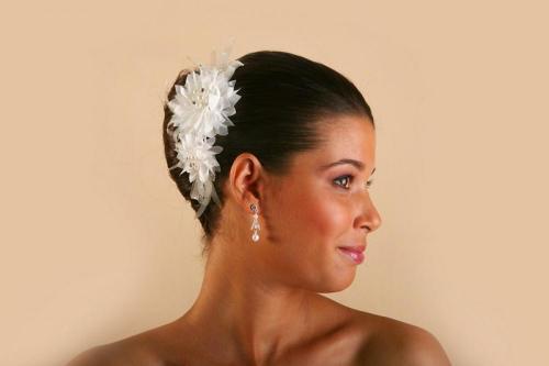 Headbands à fleurs 3 pour la mariée