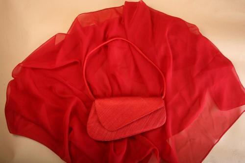 Pochette Rouge 2 pour la mariée
